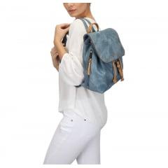 Mochila Mormaii Feminina Azul Jeans